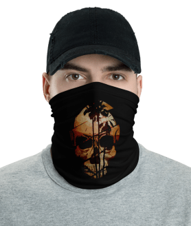 New Protective Beach Skull Face Mask, Neck Gaiter, Headwear , Scarf, Bandana