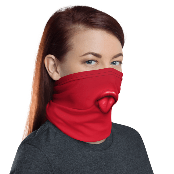 New Protective Funny Tongue Out Face Mask, Neck Gaiter, Headwear , Scarf-Bandana