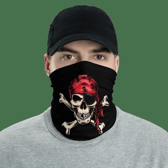 New Protective Pirate Skull Face Mask, Neck Gaiter, Headwear , Scarf, Bandana