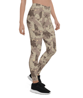 New Women's Army Camo Yoga Pants, Desert Storm Military Camouflage Yoga leggings