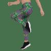 Super-high Coverage Mandala Flower Print Leggings - Girlfriend Material leggings