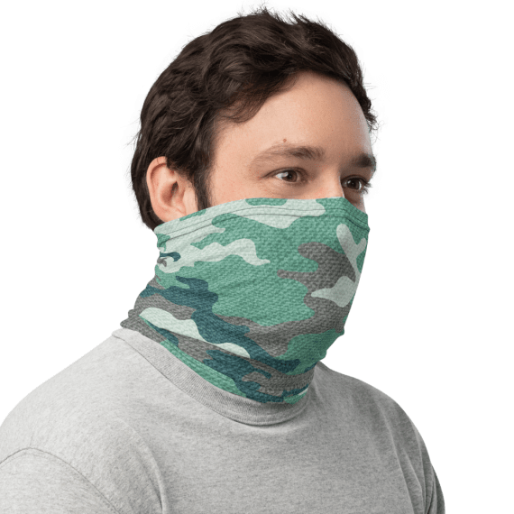 Military Camo Army Forces Camouflage Face Cover Facemask / Face Mask / Balaclava