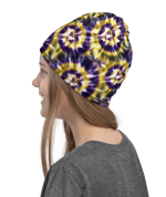 New Tie Dye Print Face Mask, Tie Dye Face Cover Masks, Tie Dye Print Neck Gaiter