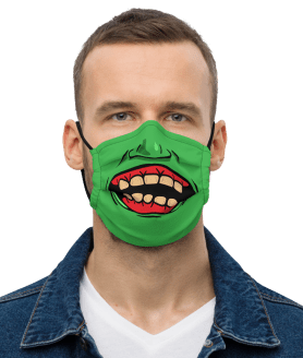 Best Halloween Face Masks For A Spooky, Safe Holiday | Funny Zombie Face Mask