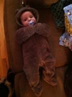 Bear-baby. Look at this!