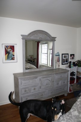 After: Gray and needing knobs