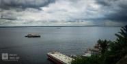 Bela vista do rio negro.
