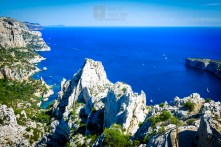 Beautiful view of the Calanque de Morgiou.