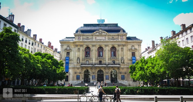 The Théâtre des #Celéstines in #Lyon is also classified by #UNESCO as a World Heritage Site. First constructed in 1789, the building was completely destroyed by fire in 1871. It was rebuilt and inaugurated in 1877. The city of Lyon took over the theatre and made a major renovation between 2002 and 2005. It's possible to find the full list of shows in their website in both French and English.