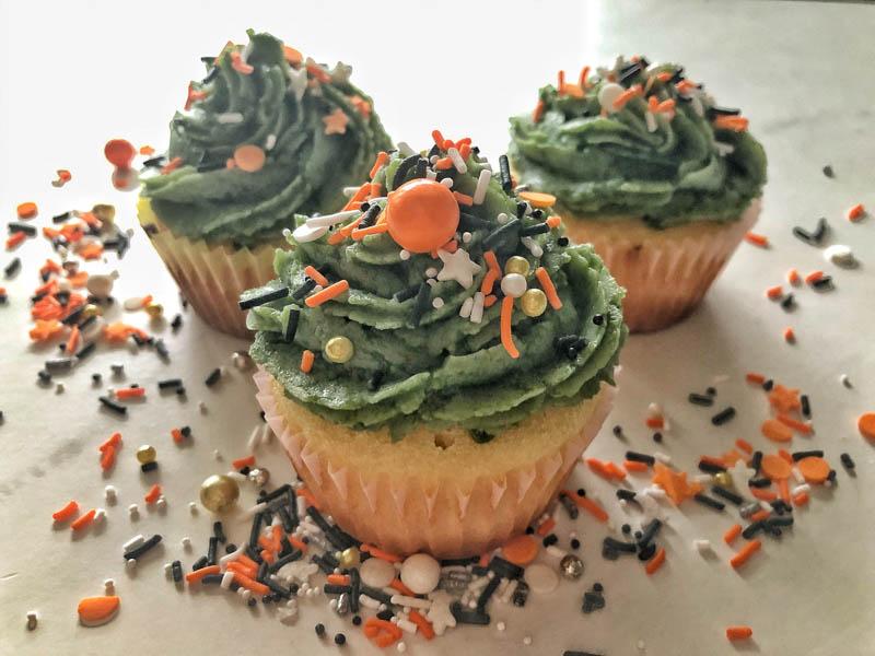 Lactose free cupcakes