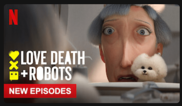 The Netflix Thumbnail for Love Death + Robots, Volume 2