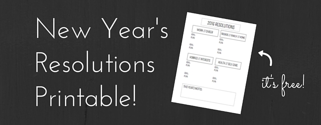New Year's Resolution Printable!-2