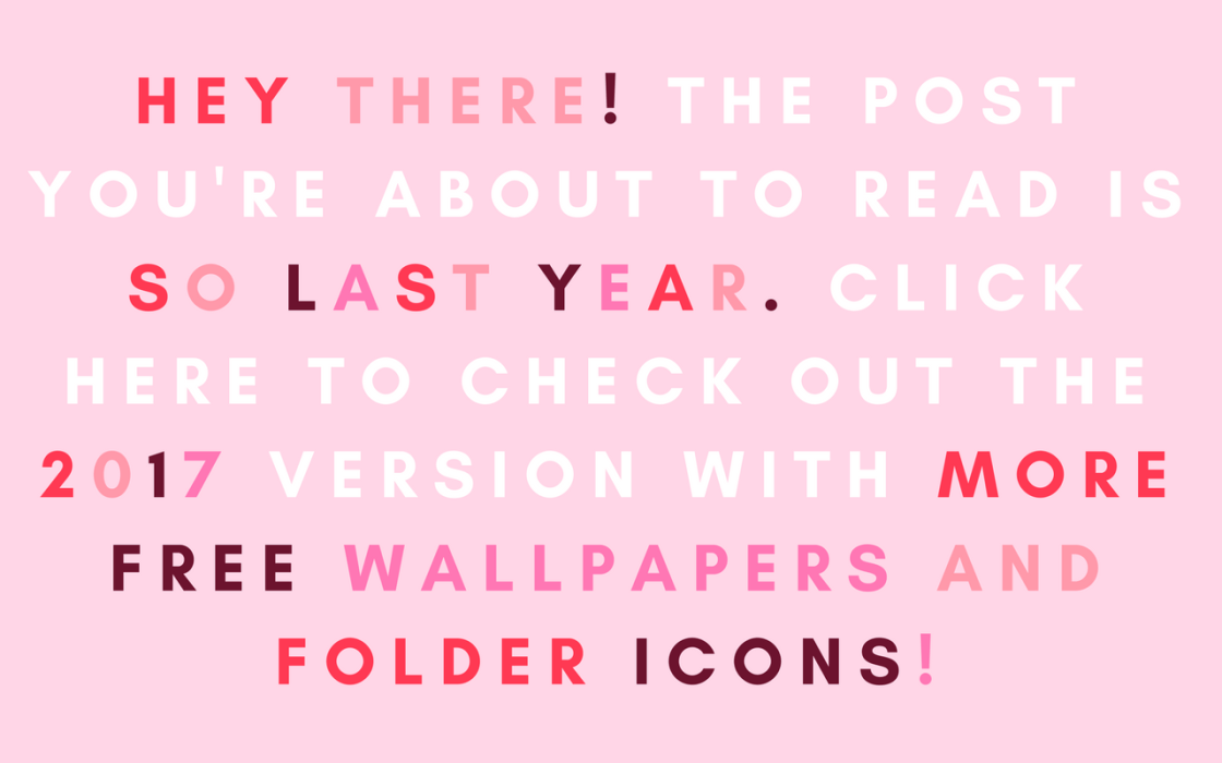 February Wallpapers And Folder Icons Hello Friends