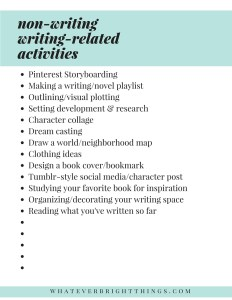 Writing-Related Activities
