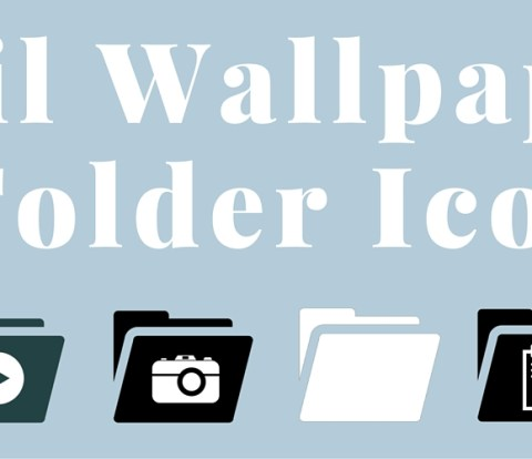 April Wallpapers & Folder Icons!