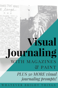 Feeling stuck with your visual journal? I've got some fun new ideas & 50 MORE prompts to share. Click through to get inspired!