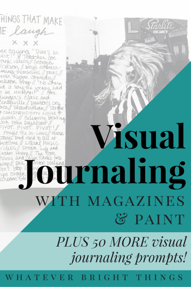 Feeling stuck with your visual journal? I've got some fun new ideas & 50 MORE visual journaling prompts to share. Click through to get inspired!