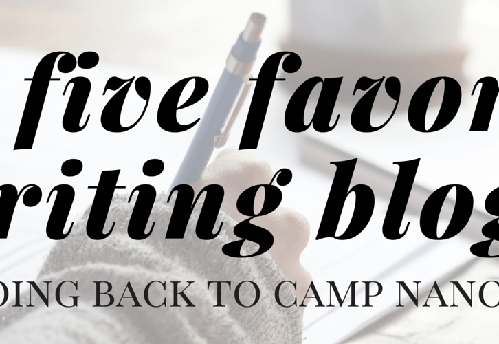 five favorite writing blogs