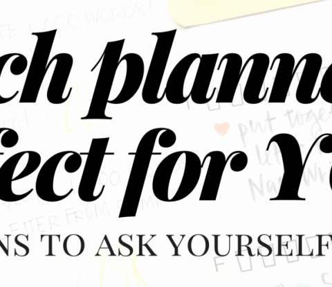 Which Planner is Perfect for You?