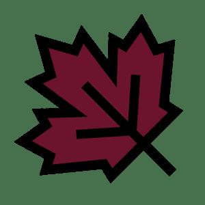 Leaf Folder Burgundy
