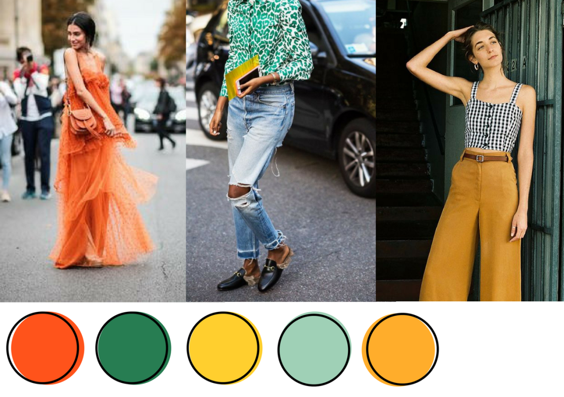 Summer 2017 Color Chart // whateverbrightthings.com