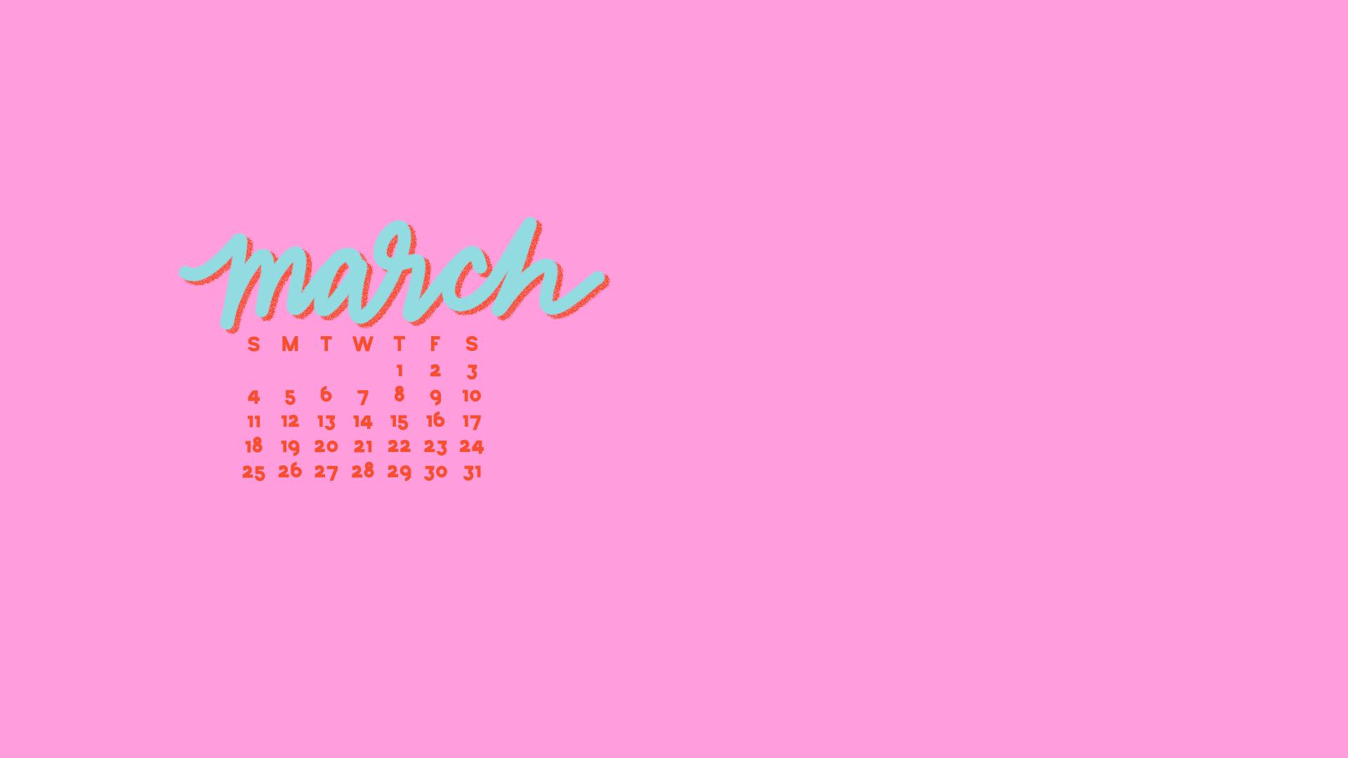 March Calendar Pop
