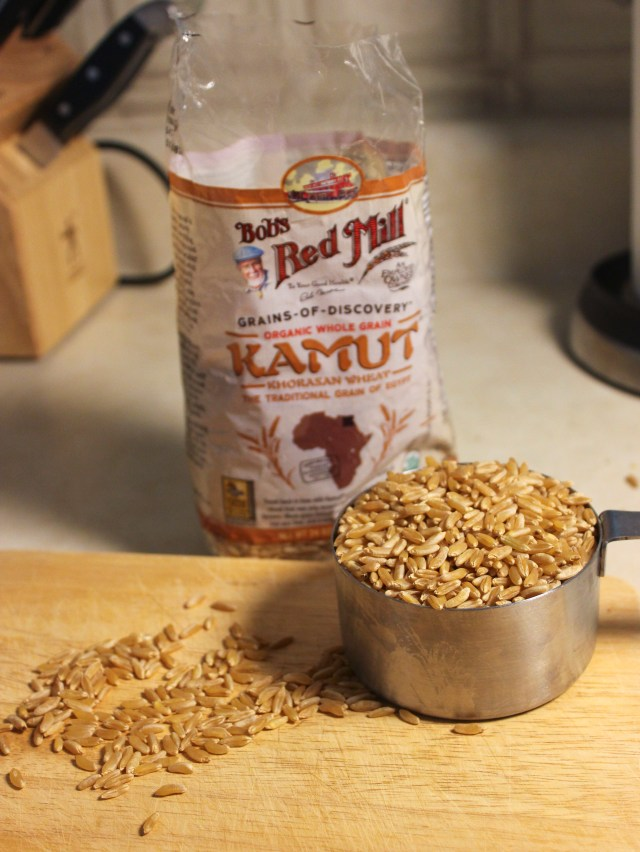 Kamut wheat is sometimes called King Tut's wheat and is thought to have been eaten by ancient Egyptians.