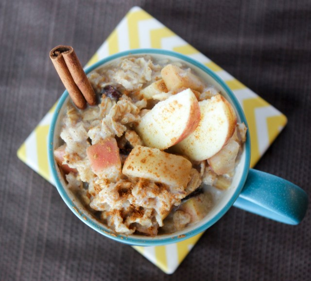Chai apple oatmeal