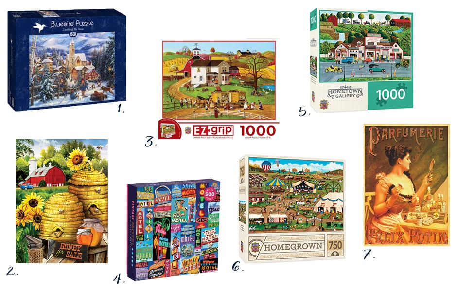 32 idées de puzzles à offrir