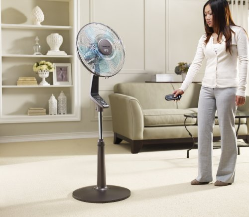 Best Oscillating Fan Reviews: Rowenta VU5551 Turbo Silence oscillating 16-inch stand fan