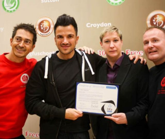 Peter Andre Launches Kung Fu Schools Franchise Opportunities