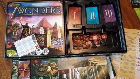 7 Wonders Game Play