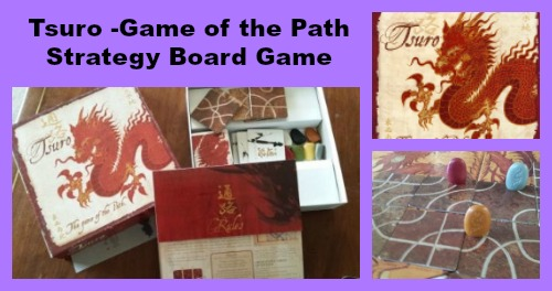 Tsuro Game of the Path Strategy Board Game