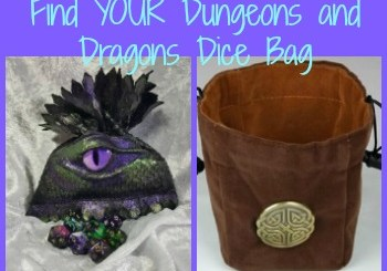 dungeons dragons dice bag