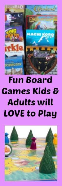 fun board games kids