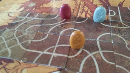 tsuro game path strategy board game