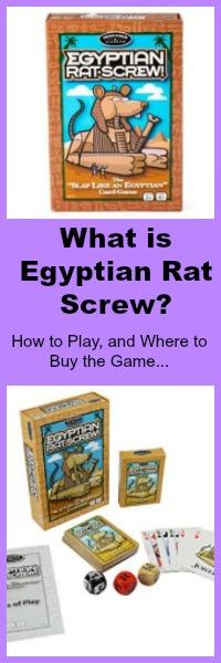 what is egyptian rat screw