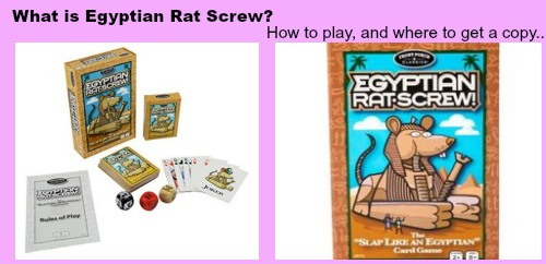 what is egyptian rat screw