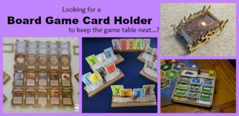 board game card holders