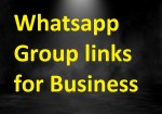 Whatsapp Groups For Business 2020 Active business whatsapp group links