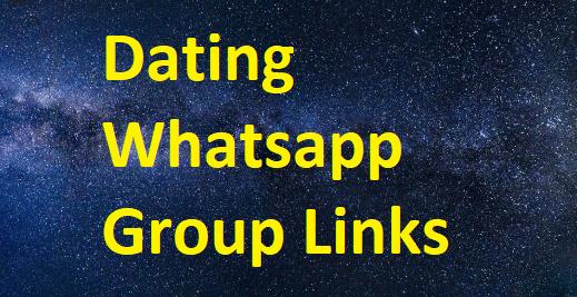 Whatsapp dating group links