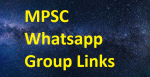 Latest MPSC Whatsapp Group Links 2020-2021