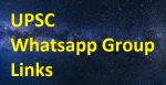 500+ UPSC Whatsapp Group Links 2020-21
