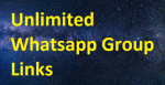 Unlimited Whatsapp Group Links 2020-21