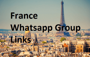 France Whatsapp Group Links