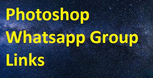photoshop whatsapp group links