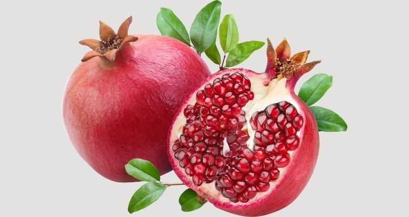 pomegranates - national fruit of Afghanistan