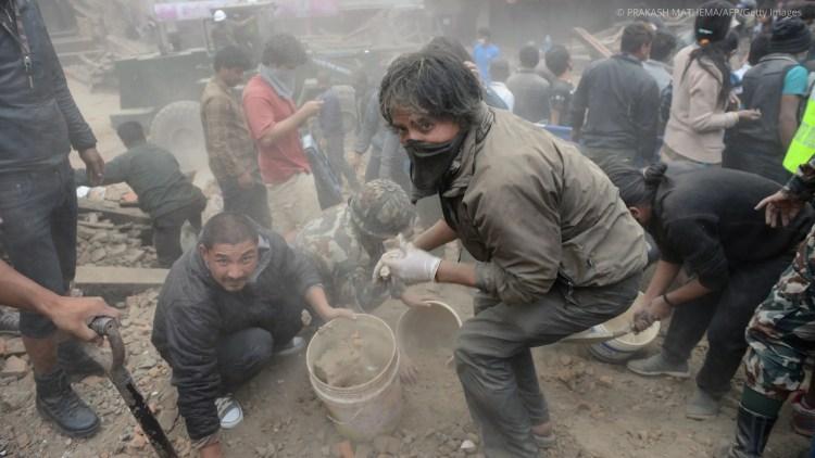 help flood and earthquake victims