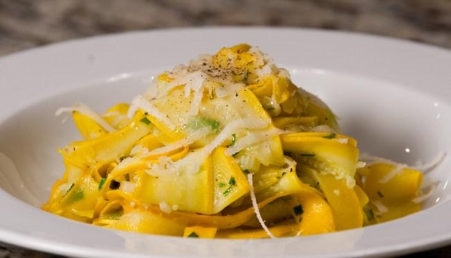 Zucchini Pappardelle Pasta