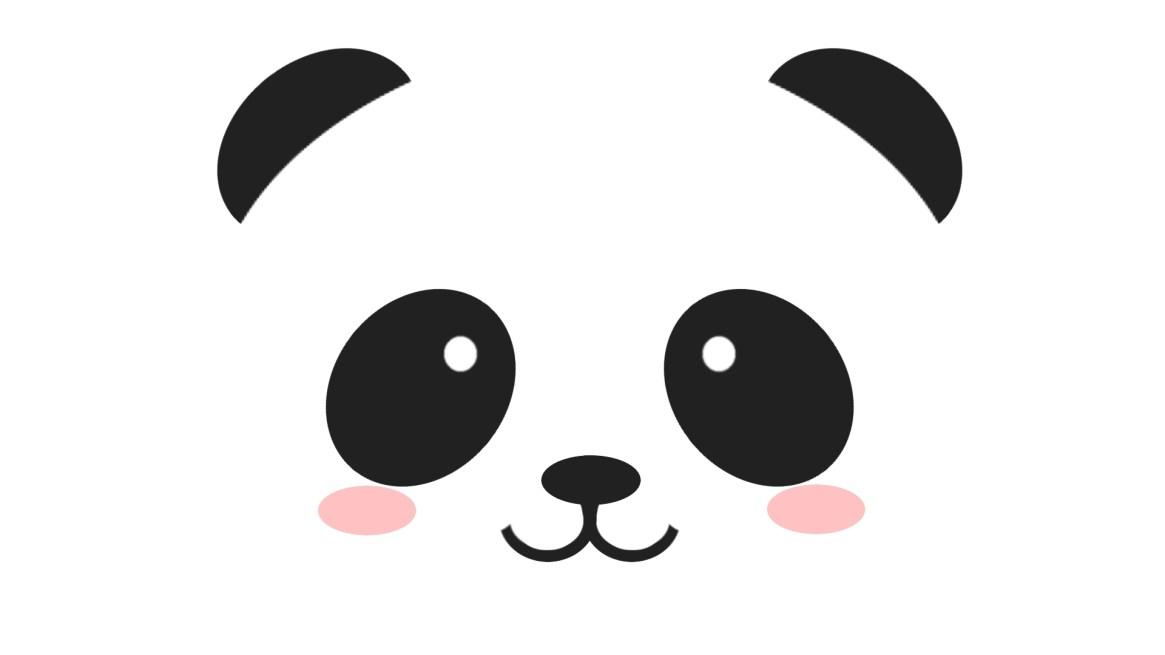 cute-panda-face-wallpaper